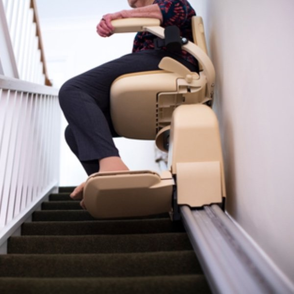 Person on a stairlift